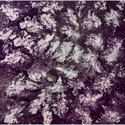 Purple Flowers - 60x60